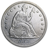 Liberty Seated Dollars (1840 - 1873)